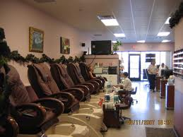 pedicure salon