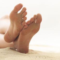 Sudoración de los pies puede ser ofensivo